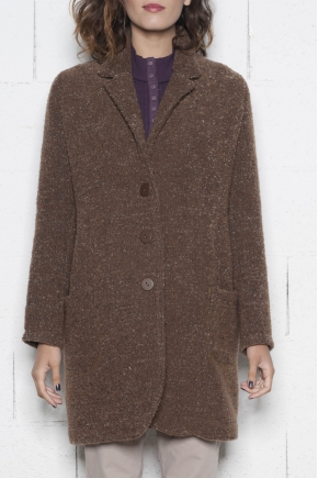 Coat 85% teases 15% polyamide