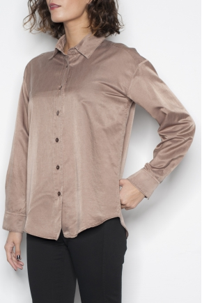 Shirt 65% cotton 35% silk