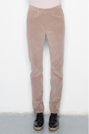 Trouser thin velvet 100% cotton
