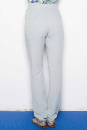 Trousers 50% Flax 50% Viscose