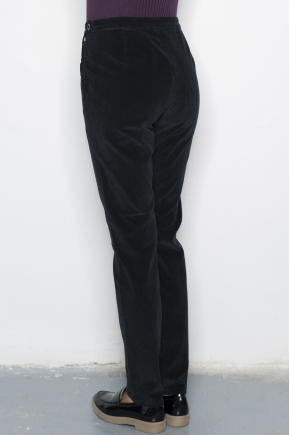 Women's pants velvet fine ribs 100% cotton