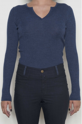 Sweater 100 % pure new wool extra fine mérinos