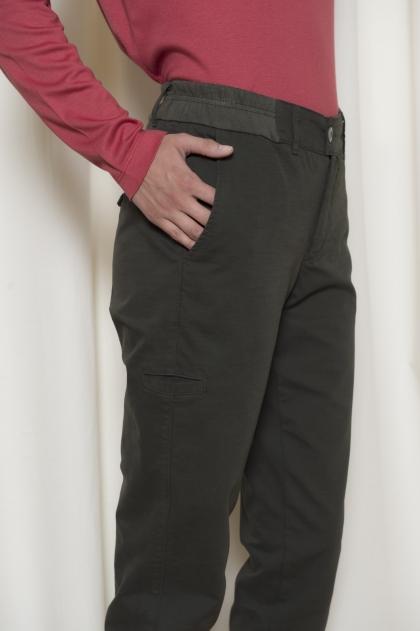 Pantalon en double toile