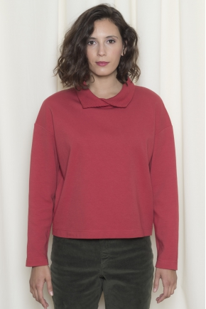 Sweat double jersey stretch 93% coton 7% élasthanne
