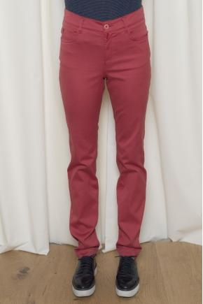 """Pantalon 5 poches en """"satin strech"""" 66% Coton 31% polyamide 3% Elasthanne"""