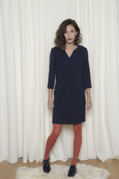 Dress 62% polyester 34% viscose 4 % elastane