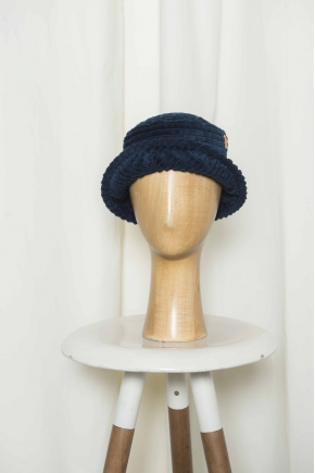 Hat woman wholesale velvet corduroy 100% cotton