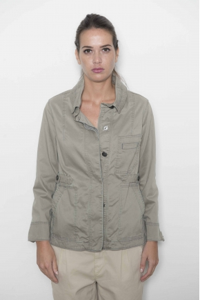 Saharan jacket gabardine stretch 49% lyocell 48% cotton 3% elastane