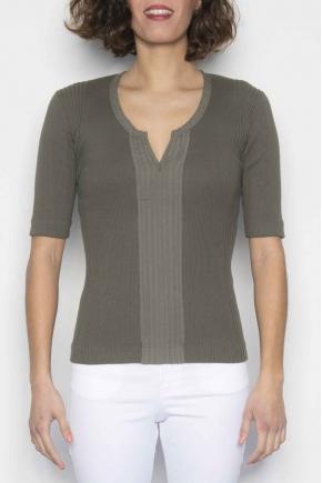 "Tee shirt ""maille Richelieu"" 100 % coton"