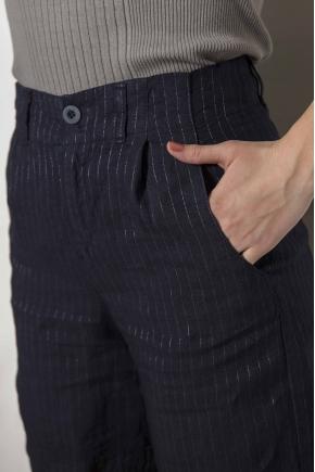 Bermuda shorts 97% Flax 2% viscose 1% Polyester