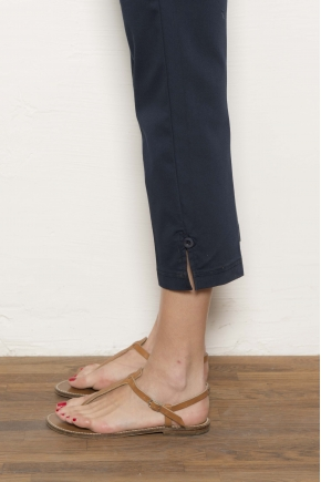 """Trousers """" satin stretch"""" 66% cotton 31% polyamide 3% elasthanne"""