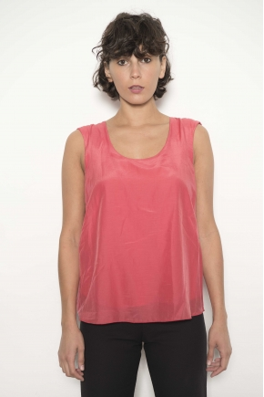 Tank Top 72% Cotton 28% Silk