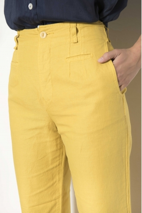 Trousers 60% lin 40% cotton