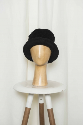 Stretch Fancy Velvet Hat 99% Cotton 1% Elastane