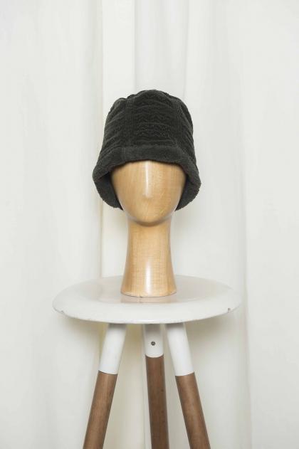 Chapeau Velours fantaisie stretch 99% coton 1% élasthanne