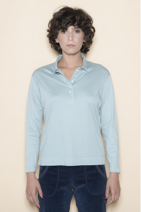 Polo Mesh rib 1: 1 50% cotton 50% modal