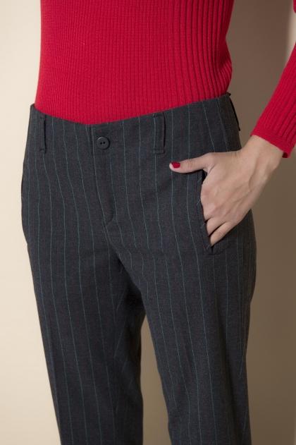 Pantalon 64% polyester 31% viscose 5% lycra