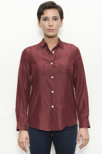Shirt 53% viscose 40% micromodal 7% silk