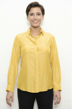 Shirt 53% viscose 40% micromodal 7% silk