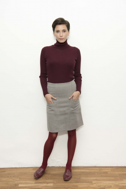 Skirt 66% cotton 31% polyamide 3% elastane