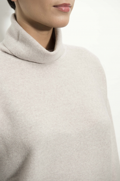Merino fine wool turtleneck sweater cadshwoll 100% virgin merino wool