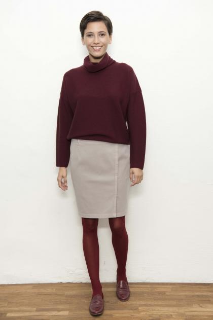 Skirt 83% cotton 17% Elastomultiester