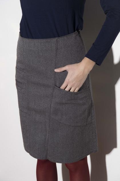 Skirt 66% cotton 31% polyamide 3% elastane