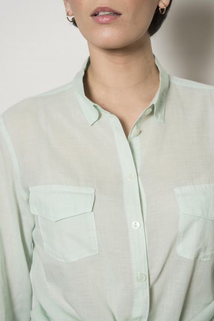 "Sail shirt ""feather"" 100% cotton"