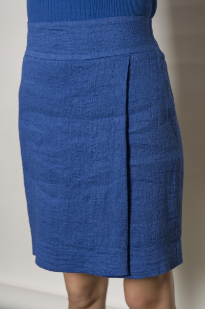 75% linen 25% cotton skirt