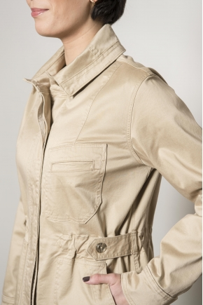 Sahara jacket gabardine stretch 49% lyocell 48% cotton 3% elastane