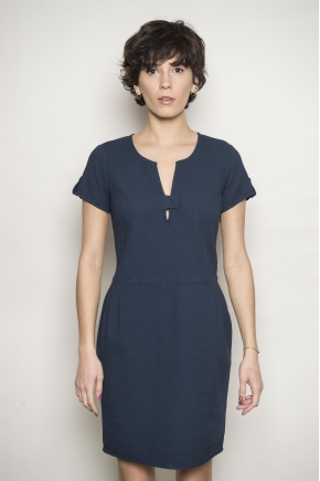 Dress 98% cotton 2% elasthanne