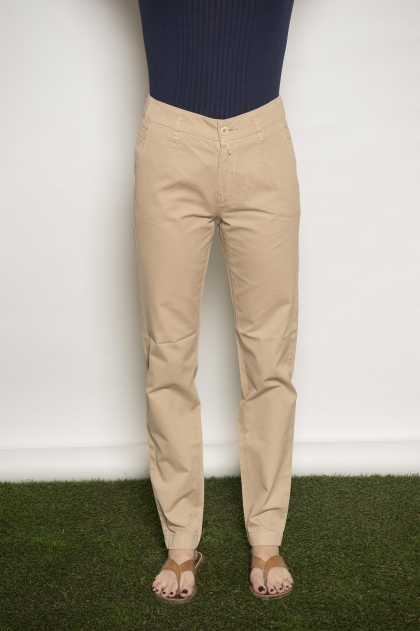 "Trouser ""Fine gabardine"" used 100% Cotton"