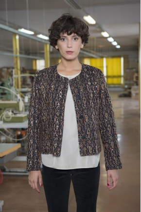 Jacket 39% ACRYLIC 15% POLYESTER 13% POLYAMIDE 13% VISCOSE 10% COTTON 5% WOOL