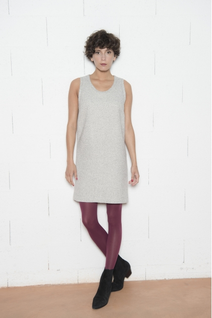 Dress 48% WOOL 23% COTTON 28% POLYAMIDE 1% ELASTANE