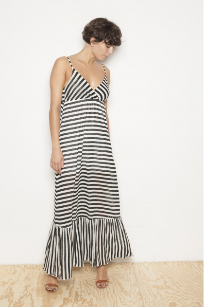 Robe 55% Lin 45% Viscose