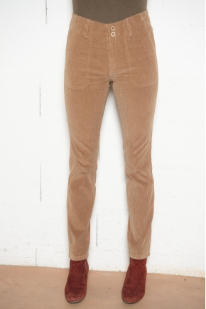 Fluid corduroy trousers 100% COTTON