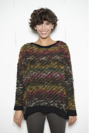 Pull 65% Acrylique 20% laine 10% polyester 5% viscose