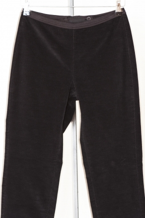 Pantalon slim velours côtelé très fin