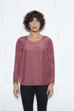 Tee shirt 53% VISCOSE 40% MICRO MODAL 7% SILK