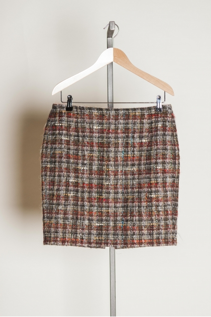 Jupe 50% LAINE 48% POLYESTER 2% ÉLASTHANNE