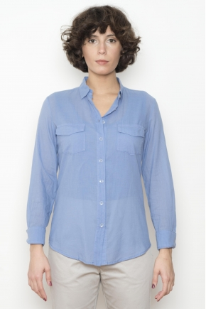 "100% COTTON ""Jersey Plume"" shirt"