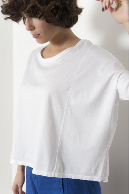 "100% Cotton ""Jersey Feather"" T-shirt"