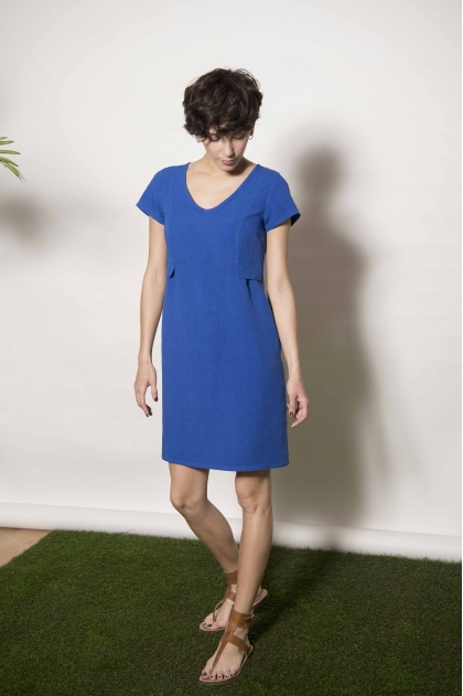 Robe 50% LIN 50% VISCOSE
