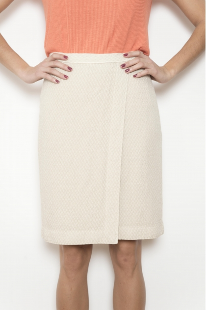 Fancy wrap skirt 50% LINEN 50% VISCOSE