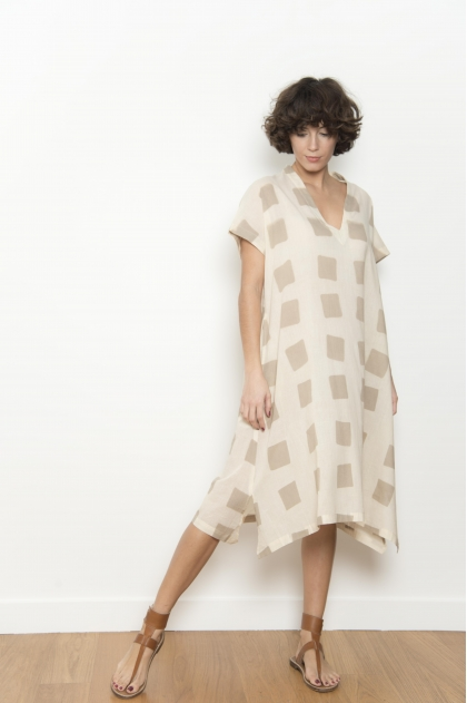 100% cotton voile dress