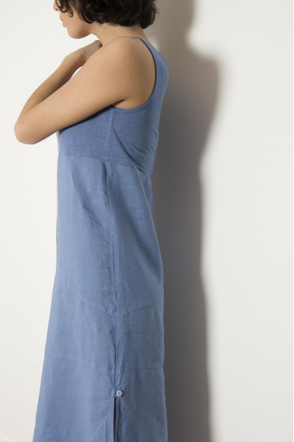 100% linen dress