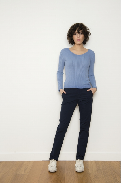 Women's trousers 96% cotton 4% elastane
