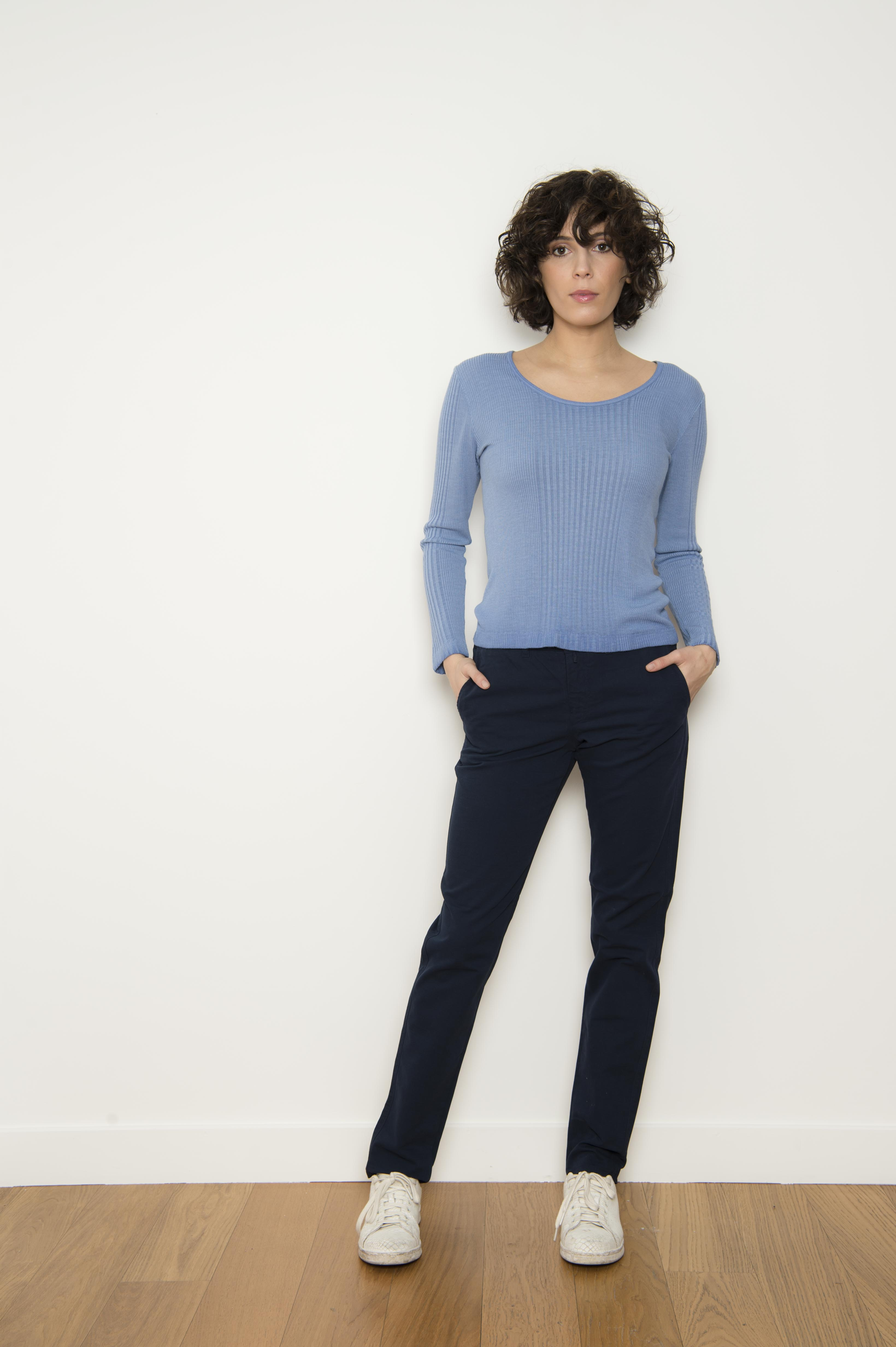 Pantalon 96% coton 4% élasthanne