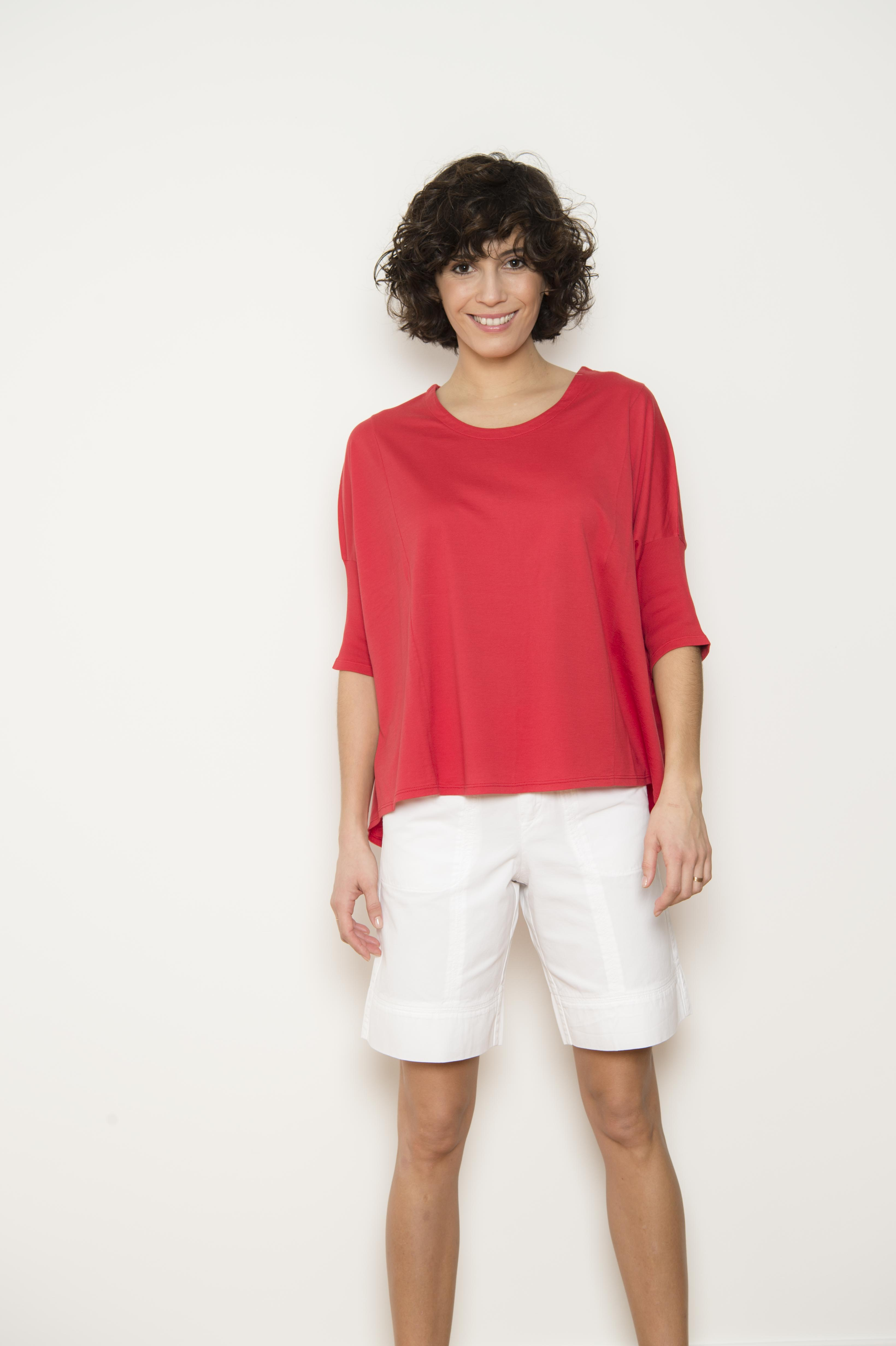 """100% Cotton """"Jersey Feather"""" T-shirt"""