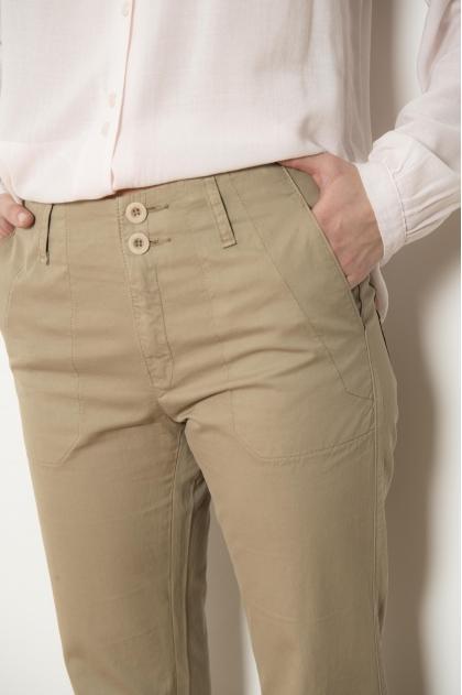 """Gabardine"" pants emerized 100% COTTON"